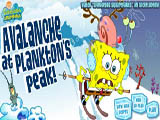 Avalanche at plankton is peak