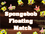 SpongeBob Floating