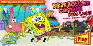 juegos de bob esponja en la feria