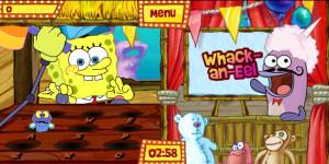 juegos de bob esponja en la feria whack