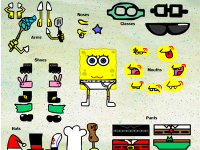 Spongebob Party Dress Up